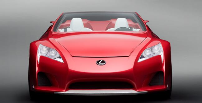 LFA Roadster by Lexus USA