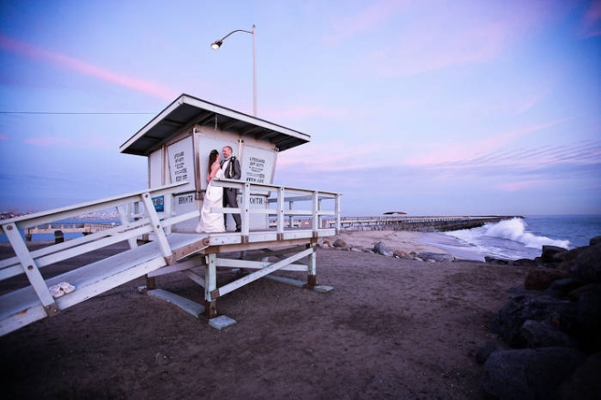 cabrillo beach bathhouse wedding photographer, san pedro